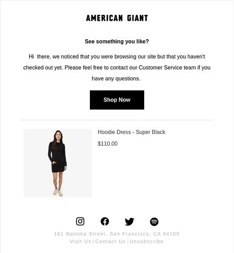 American Giant product page