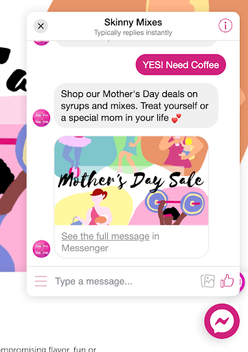 Skinny Mixes Mothers Day Chat