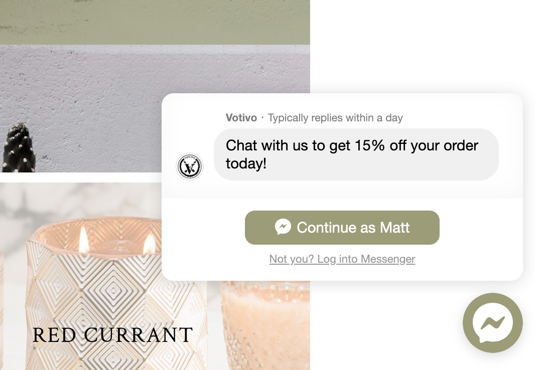 Customer Chat Widget