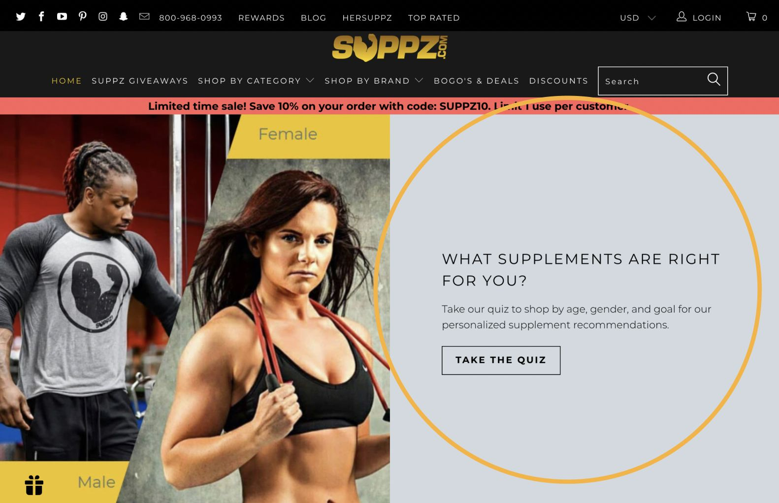 suppz_quizplacement_example